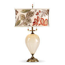 Jacqui by Susan Kinzig and Caryn Kinzig (Mixed-Media Table Lamp)