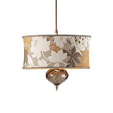 Nicholas Pendant by Susan Kinzig and Caryn Kinzig (Mixed-Media Pendant Lamp)