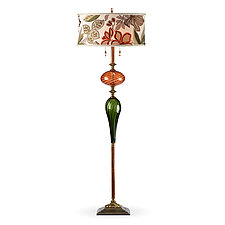 Jacques by Susan Kinzig and Caryn Kinzig (Mixed-Media Floor Lamp)
