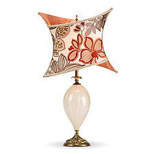 Lola by Susan Kinzig and Caryn Kinzig (Mixed-Media Table Lamp)