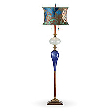 Christopher by Susan Kinzig and Caryn Kinzig (Mixed-Media Floor Lamp)