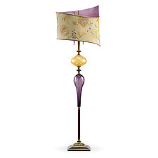 Bobby by Susan Kinzig and Caryn Kinzig (Mixed-Media Floor Lamp)