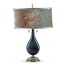 Maya by Susan Kinzig and Caryn Kinzig (Mixed-Media Table Lamp)