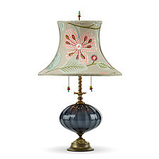 Joyce by Susan Kinzig and Caryn Kinzig (Mixed-Media Table Lamp)