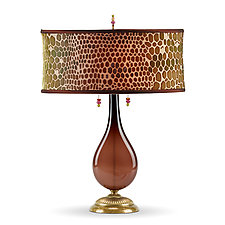 Hazel by Susan Kinzig and Caryn Kinzig (Mixed-Media Table Lamp)