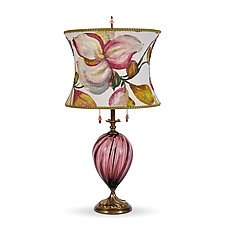 Lana Table Lamp by Susan Kinzig and Caryn Kinzig (Mixed-Media Table Lamp)