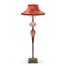 Harry by Susan Kinzig and Caryn Kinzig (Mixed-Media Floor Lamp)