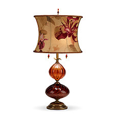 Mariola by Susan Kinzig and Caryn Kinzig (Mixed-Media Table Lamp)