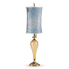 Alyssa by Susan Kinzig and Caryn Kinzig (Mixed-Media Table Lamp)