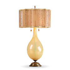Charlene by Susan Kinzig and Caryn Kinzig (Mixed-Media Table Lamp)