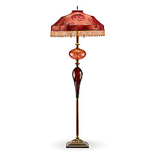 Harry by Susan Kinzig and Caryn Kinzig (Mixed-Media Floor Lamp)