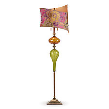 Romel by Susan Kinzig and Caryn Kinzig (Mixed-Media Floor Lamp)