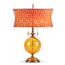 Liliana by Susan Kinzig and Caryn Kinzig (Mixed-Media Table Lamp)