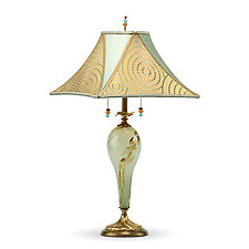Emily II by Susan Kinzig and Caryn Kinzig (Mixed-Media Table Lamp)