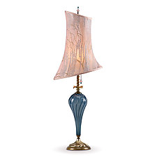 Louisa by Susan Kinzig and Caryn Kinzig (Mixed-Media Table Lamp)