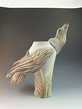 Eagle by Nancy Y. Adams (Ceramic Vase)