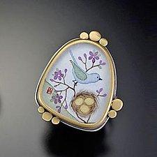 Organic Ring by Ananda Khalsa (Silver Ring)