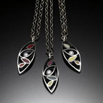 Marquis Necklace by Susan Kinzig (Silver Necklace)