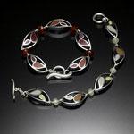 Marquis Bracelet by Susan Kinzig (Silver Bracelet)