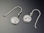 Dragonfly Earrings by Ananda Khalsa (Silver Earrings)