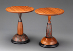 Tit for Tat Tables by Kimberly D. Winkle (Wood Side Table)