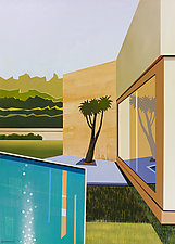Poolside 3 by Gregory Garrett (Giclee Print)