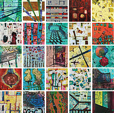 Berlin Souvenirs by Chin Yuen (Acrylic Painting)