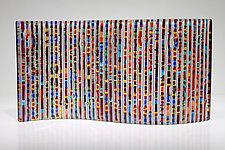Color Wave I by Jim Vollmer (Art Glass Sculpture)