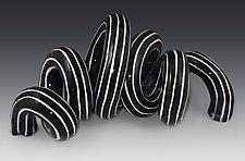 Undulation 2 by Lisa Scroggins (Ceramic Sculpture)