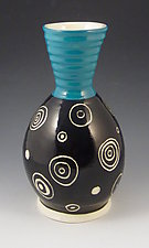 Inner Circle Vase by Lisa Scroggins (Ceramic Vase)