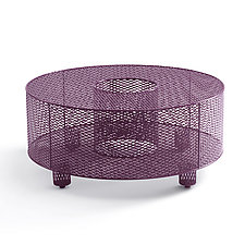 O Table in Plum by Damian Velasquez (Metal Table)