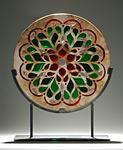 Teardrop II Window Sculpture by Melody Lane (Ceramic Sculpture)