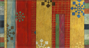 Stars and Bars: Patricia Dreher: Canvas Floorcloth - Artful Home :  stars home furniture artful home