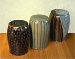 Garden Stool by Michael Jones (Ceramic Stool)
