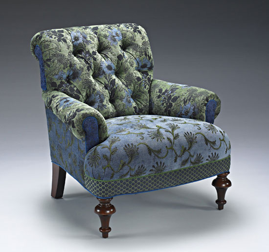 Middlebury Chair: Larkspur