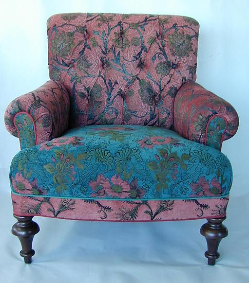 Middlebury Chair in Zinnia