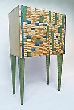 Skygazer Cabinet by Anne Bossert (Wood Cabinet)