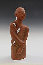 Leaf by Beth Ozarow (Ceramic Sculpture)