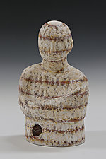 Banded by Beth Ozarow (Ceramic Sculpture)