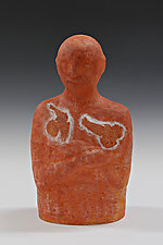 Two Birds / One Tree by Beth Ozarow (Ceramic Sculpture)
