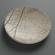 Platter with Branches by Duncan Gowdy (Wood Platter)