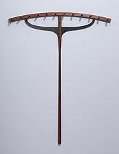 M Coat Rack by Duncan Gowdy (Wood Coat Rack)