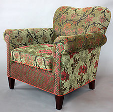 Molly Rose Chair in Aloe by Mary Lynn O'Shea (Upholstered Chair)