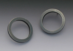 XL Circle Post by Elisa Bongfeldt (Silver Earrings)