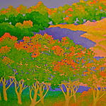 Crown Valley by Gail Powell (Oil Painting)