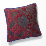 Red Majority Medley by Mary Lynn O'Shea (Pillow)