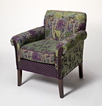 Salon Chair Rising Lily by Mary Lynn O'Shea (Upholstered Chair)