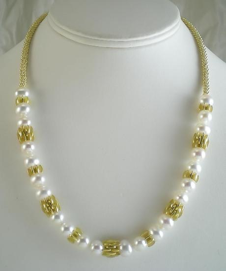 Pearl Frill Necklace