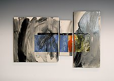 Untitled (Triptych) by James Aarons (Ceramic Wall Art)