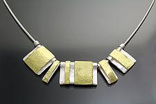 Unity Necklace by Sana  Doumet (Gold & Silver Necklace)